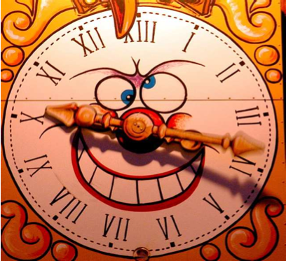Time is an Illusion, Daylight Saving's Time doubly so.