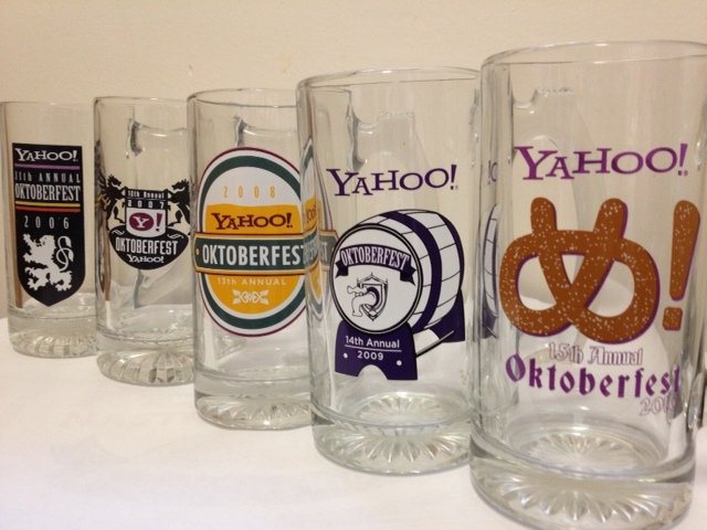 Yes, I'm missing my 2011 Yahoo! Oktoberfest Beerstein -- if you'd like to donate one, let me know!