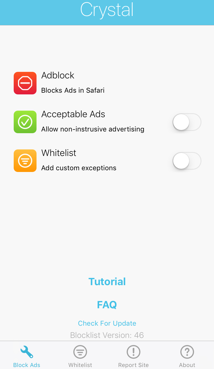 Some) iPhone Privacy Settings