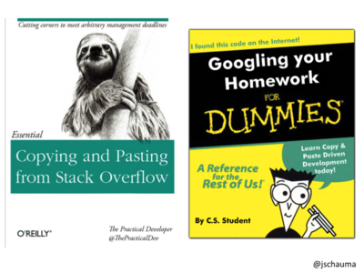 Copying/Pasting from StackOverflow; Googling your Homework for Dummies