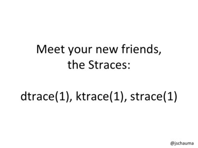 Meet your new friends, the Straces: dtrace(1), ktrace(1), strace(1).